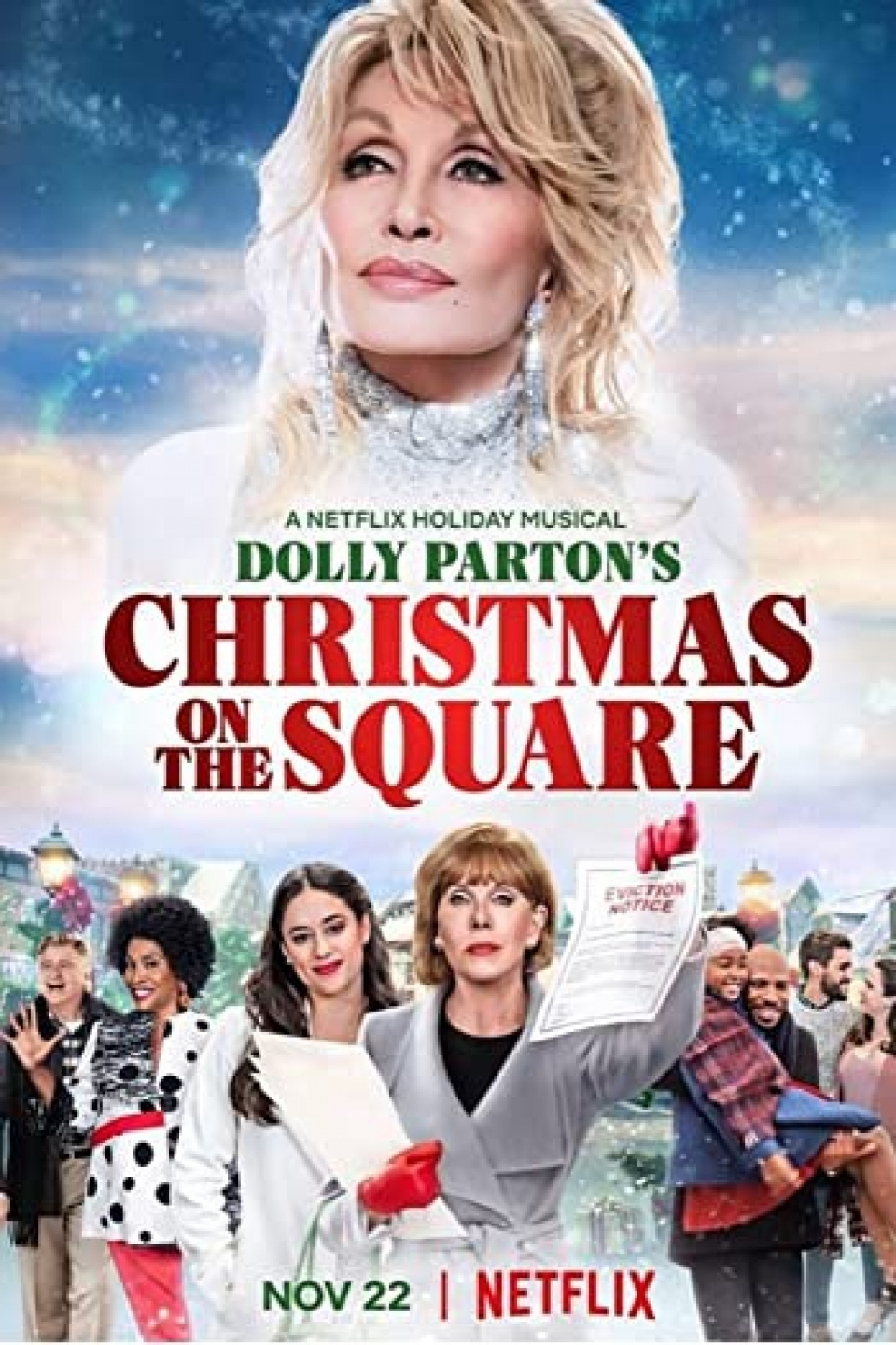 DOLLY PARTON'S CHRISTMAS ON THE SQUARE | NETFLIX (2020)