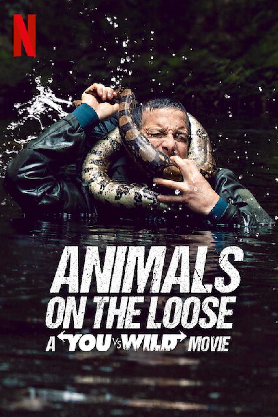 ANIMALS ON THE LOOSE: A YOU VS. WILD MOVIE | NETFLIX (2021)