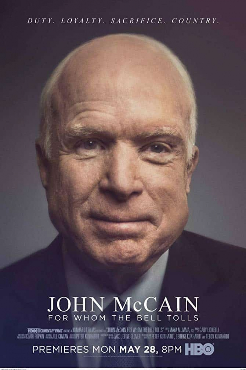 JOHN MCCAIN FOR WHOM THE BELL TOLLS (2018)